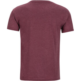 Marmot Sunrise Camiseta manga corta Hombre, burgundy heather